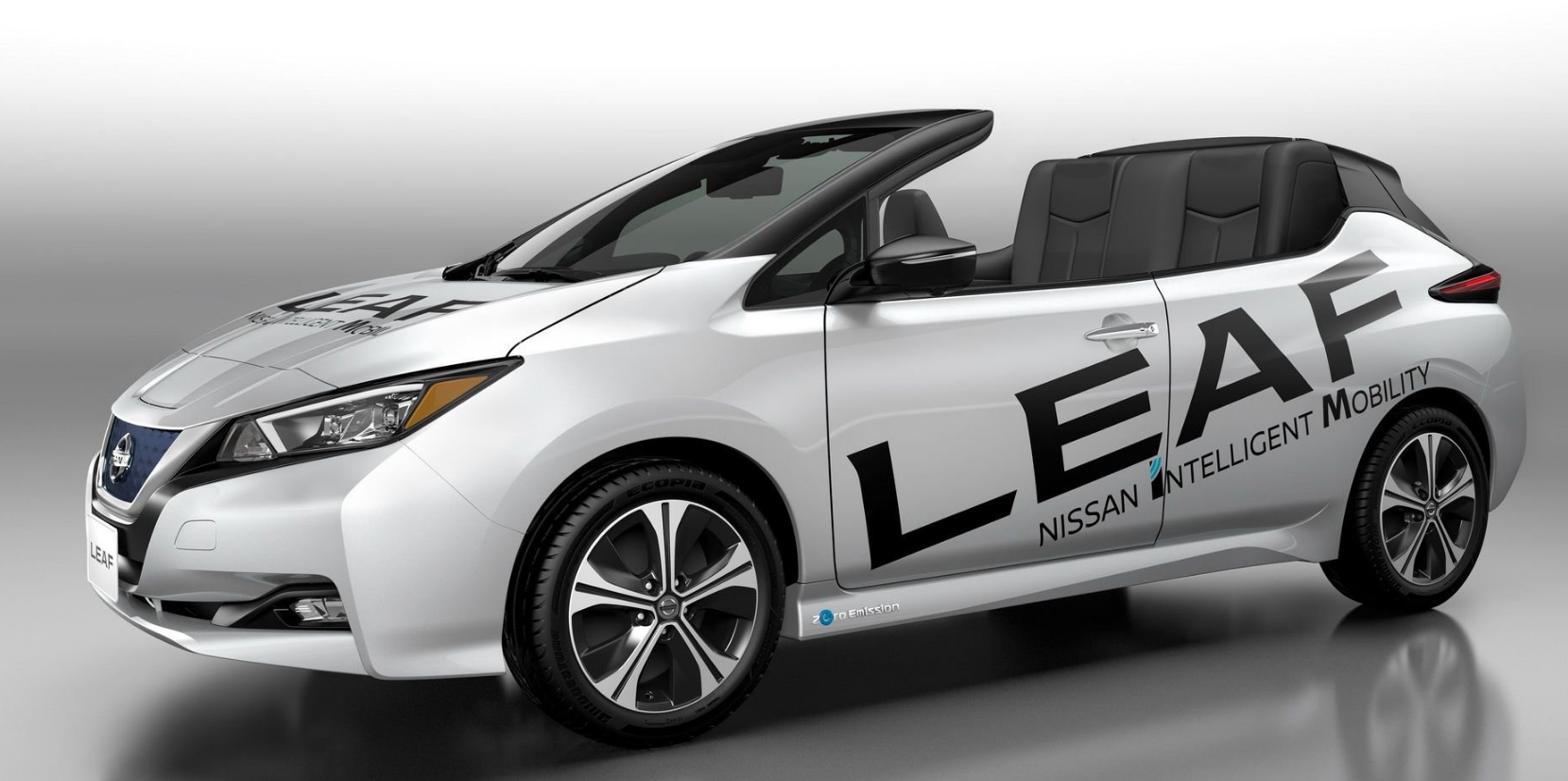 nissan devela la versi n descapotable del nuevo nissan leaf automundo. Black Bedroom Furniture Sets. Home Design Ideas