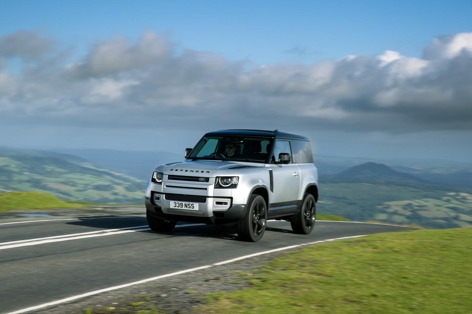 Land Rover Defender 2021 obtiene un motor PHEV y techo ...